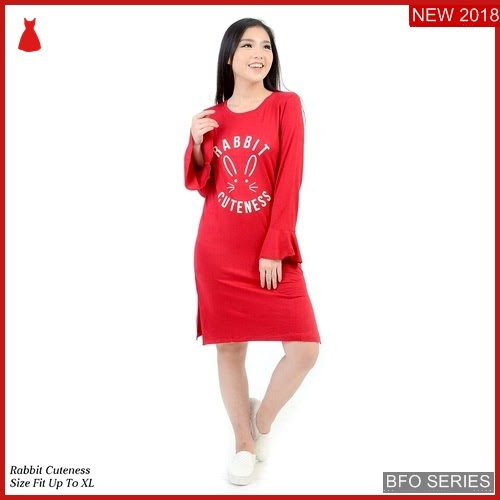 BFO217B57 RABBIT Model CUTE MINI Jaman Now DRESS BMGShop