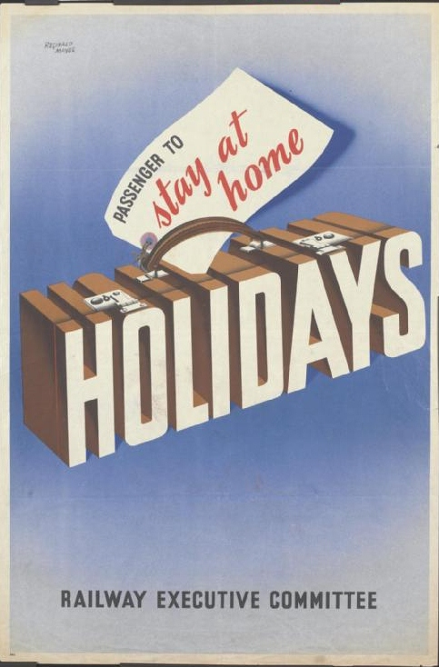 The Passion Of Former Days: Stay At Home Holidays