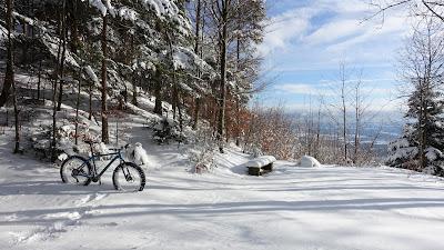 Fattie steckt im Schnee
