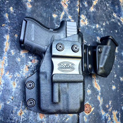 sidecar, sidecar holster, sidecar aiwb holster, aiwb holster, aiwb holster and mag carrier combo, aiwb rig, holster and mag carrier, aiwb rig, modular appendix rig, tlr6 holsters, glock 33 with tlr6, glock 26 with tlr6, tlr-6 holsters, dara holsters, trex arms sidecar