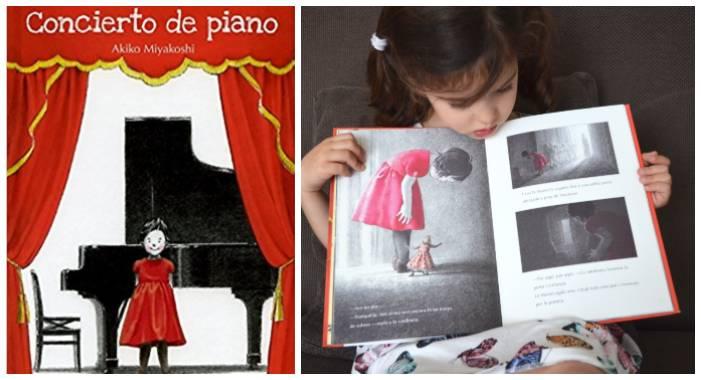 cuentos libros infantiles superar vencer timidez concierto de piano akiko miyakoshi