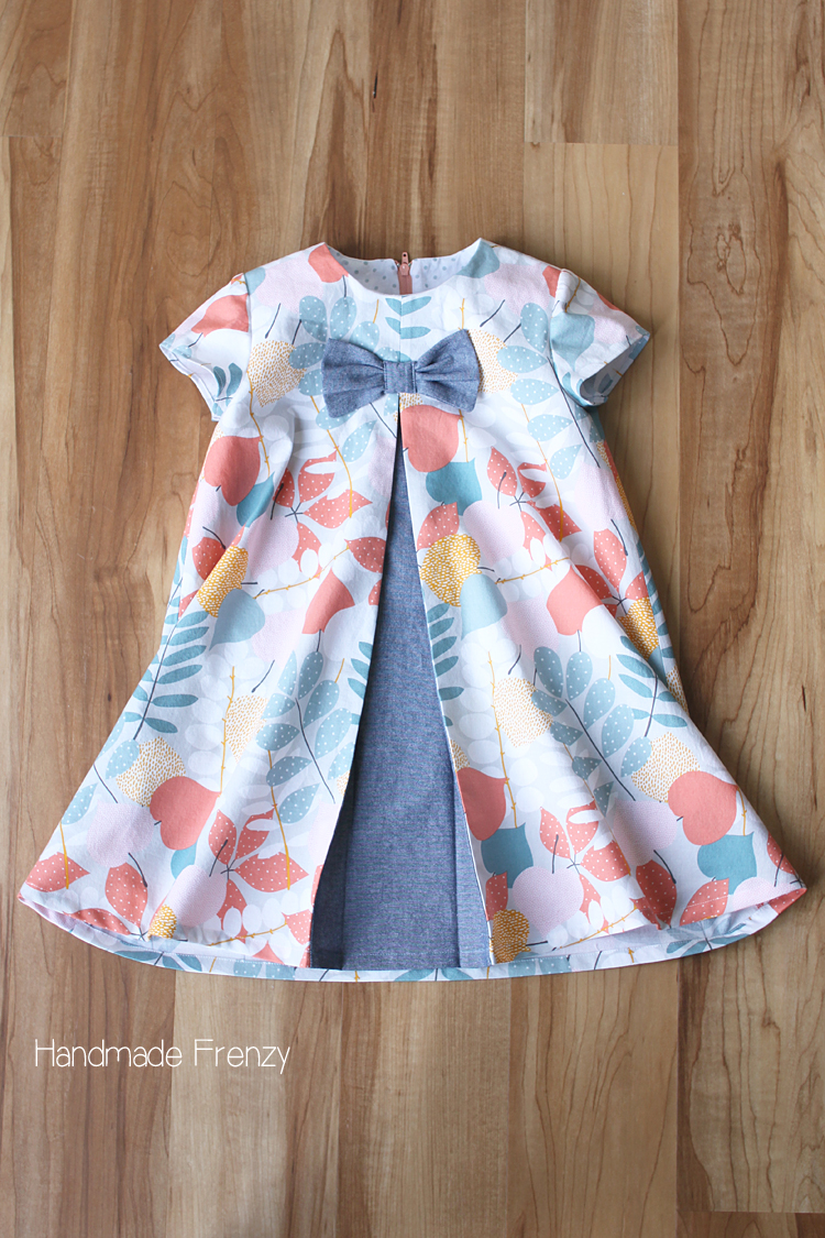 Eleena Dress for Easter // Sewing For Girls