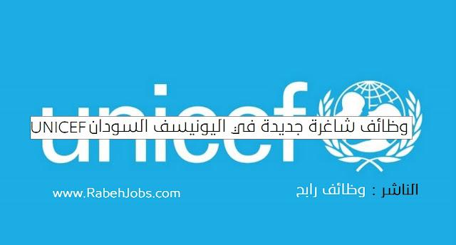 وظائف شاغرة جديدة في اليونيسف السودان UNICEF Sudan