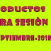 Productos contestados primera sesión del consejo técnico escolar, Septiembre 2018-2019.