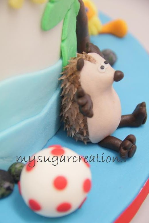 My Sugar Creations 001943746 M Timmy Time Cake Alvin