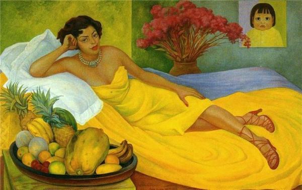 Diego Rivera Портрет Дона Елена Флорес-де-Каррильо