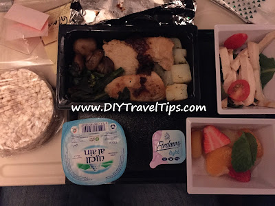 Photo of Ethihad Airways Gluten Free Meal Opened Up