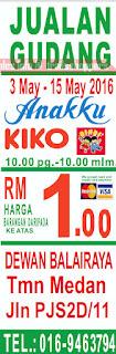 Anakku & Baby KIKO Warehouse Sales