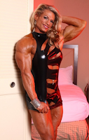 Female bodybuilding and fitness motivation muscular female