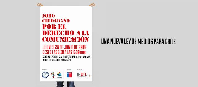 En Valparaíso se realiza este jueves 28 el primero de tres foros ciudadanos por el Derecho a la Comunicación