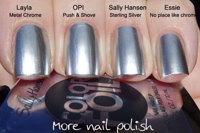 Sally Hansen Color Foil swatches and review ~ More Nail Polish