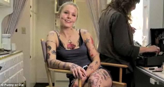 Kristen Bell Tattoos Under Chin: Who Is Tonto Dike? Asks Kristen Bell
