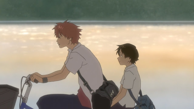 The Girl Who Leapt Through Time getting dinked