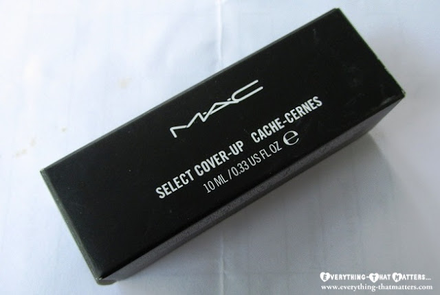 MAC+Select+Cover+Up+Concealer+Swatch+Review+And+Demo