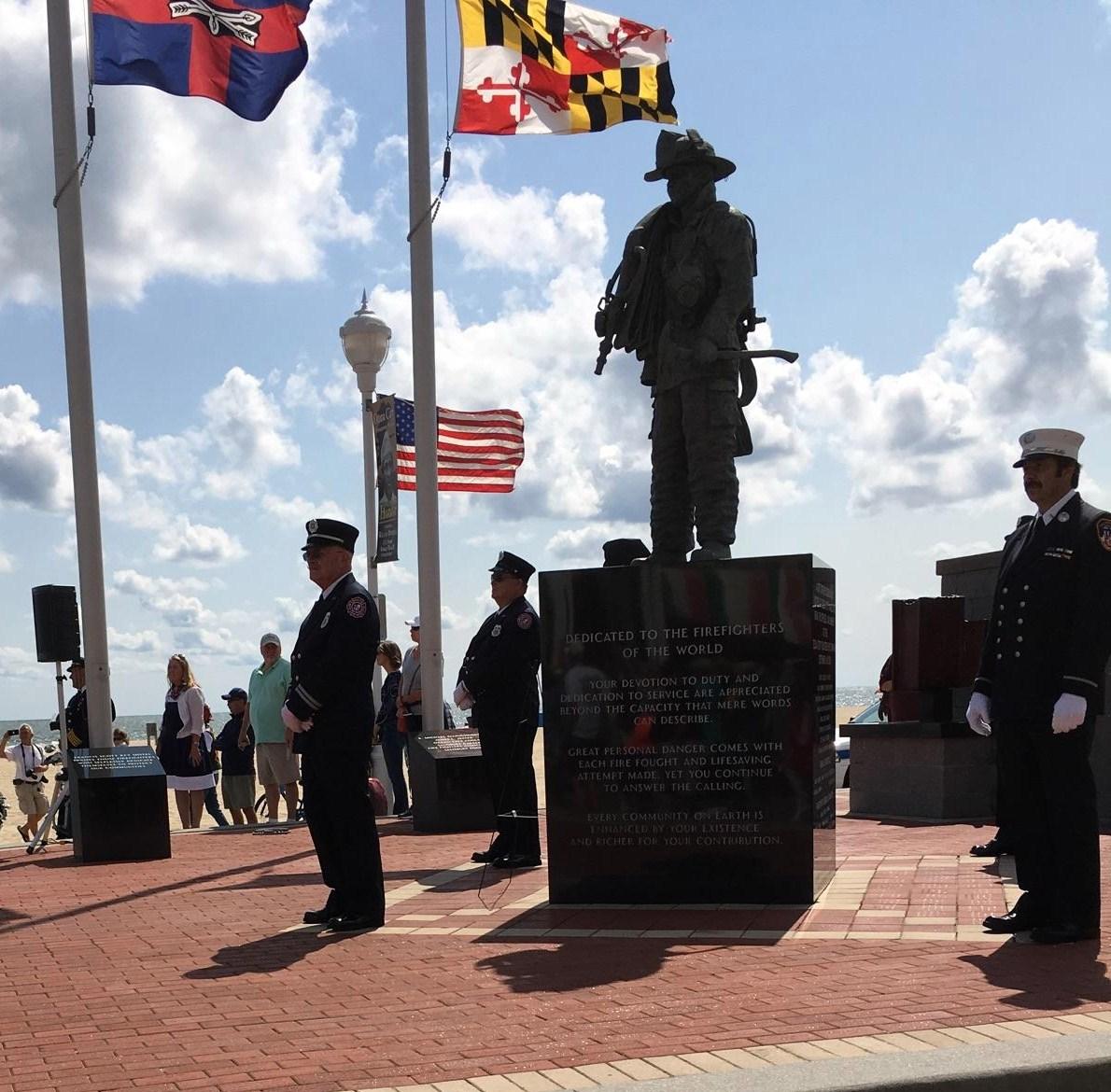 Salisbury News: 9-11 Memorial Ride In Ocean City Maryland LIVE