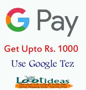 Google tez offers