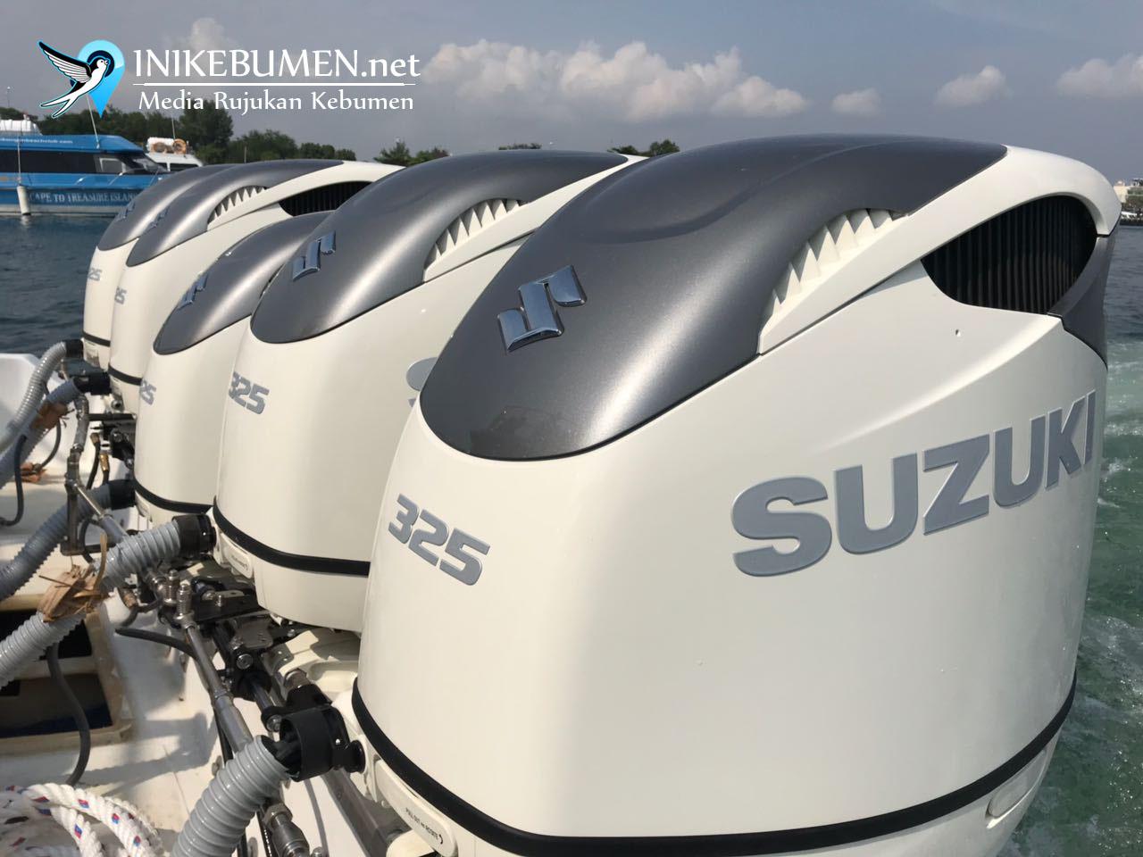 Suzuki Indonesia Hadirkan Mesin Tempel Dual Propeller Satu-satunya di Dunia