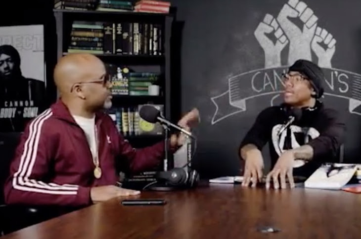 "Dame Dash Talk Hip Hop And More With Nick Cannon On ""Cannon's Class"""
