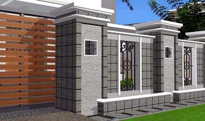 Desain Pagar untuk Rumah Mewah