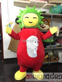 may và bán thú rối mascot