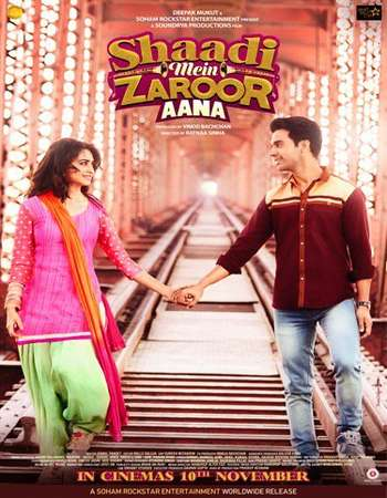 Shaadi Mein Zaroor Aana 2017 Full Hindi Mobile HEVC Movie HDTVRip Download