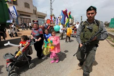 Israel celebra Purim bajo fuertes medidas de seguridad