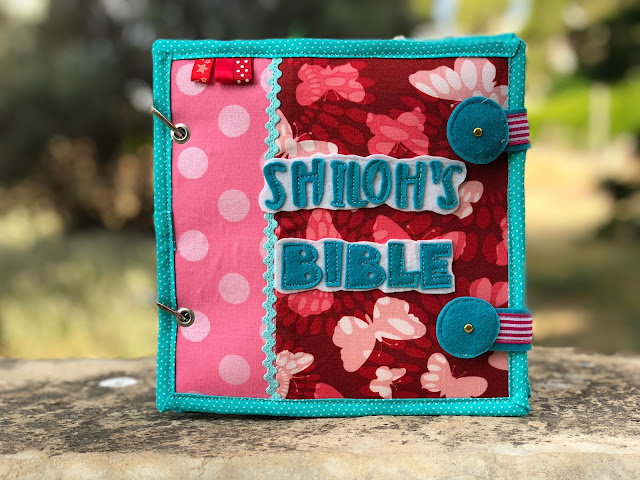 Bible quiet book for Shiloh handmade by TomToy