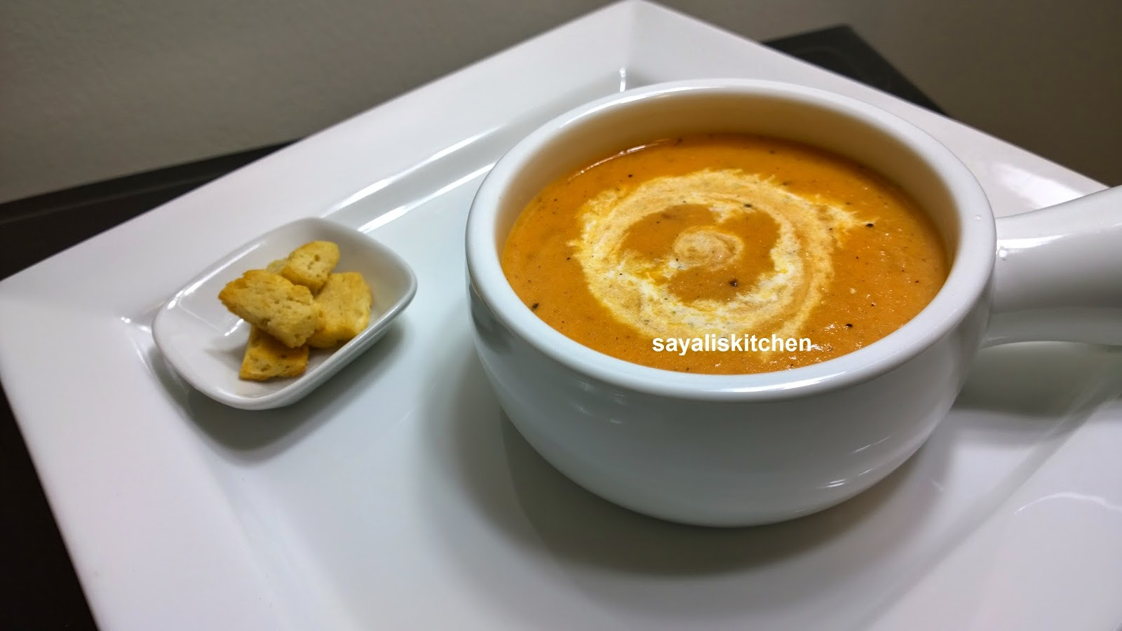 Authentic Cream Of Tomato Soup Recipe