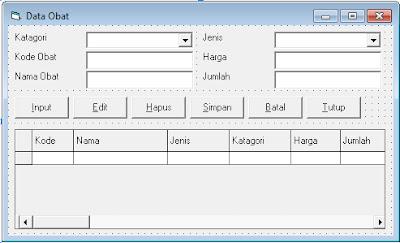 download source coding program vb6 rawat jalan