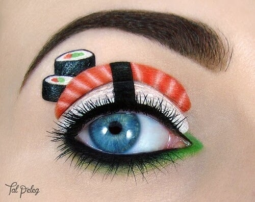 15-Sushi-eye-Tal-Peleg-Eye-Make-Up-Art-Drawings-www-designstack-co
