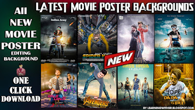 Top Movie Poster Editing Background Of 2018 One Click Download Zip