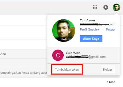 Cara Membuka Banyak Akun (Multiple) Gmail Dalam 1 Browser