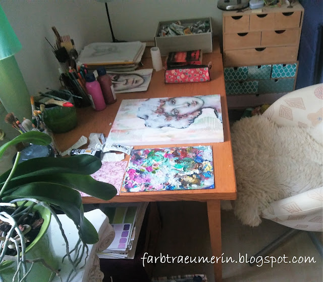Malerei, Kunst, Gallerie, Atelier