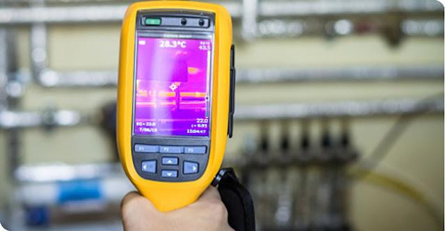 cámaras termográficas para localizar fugas de agua