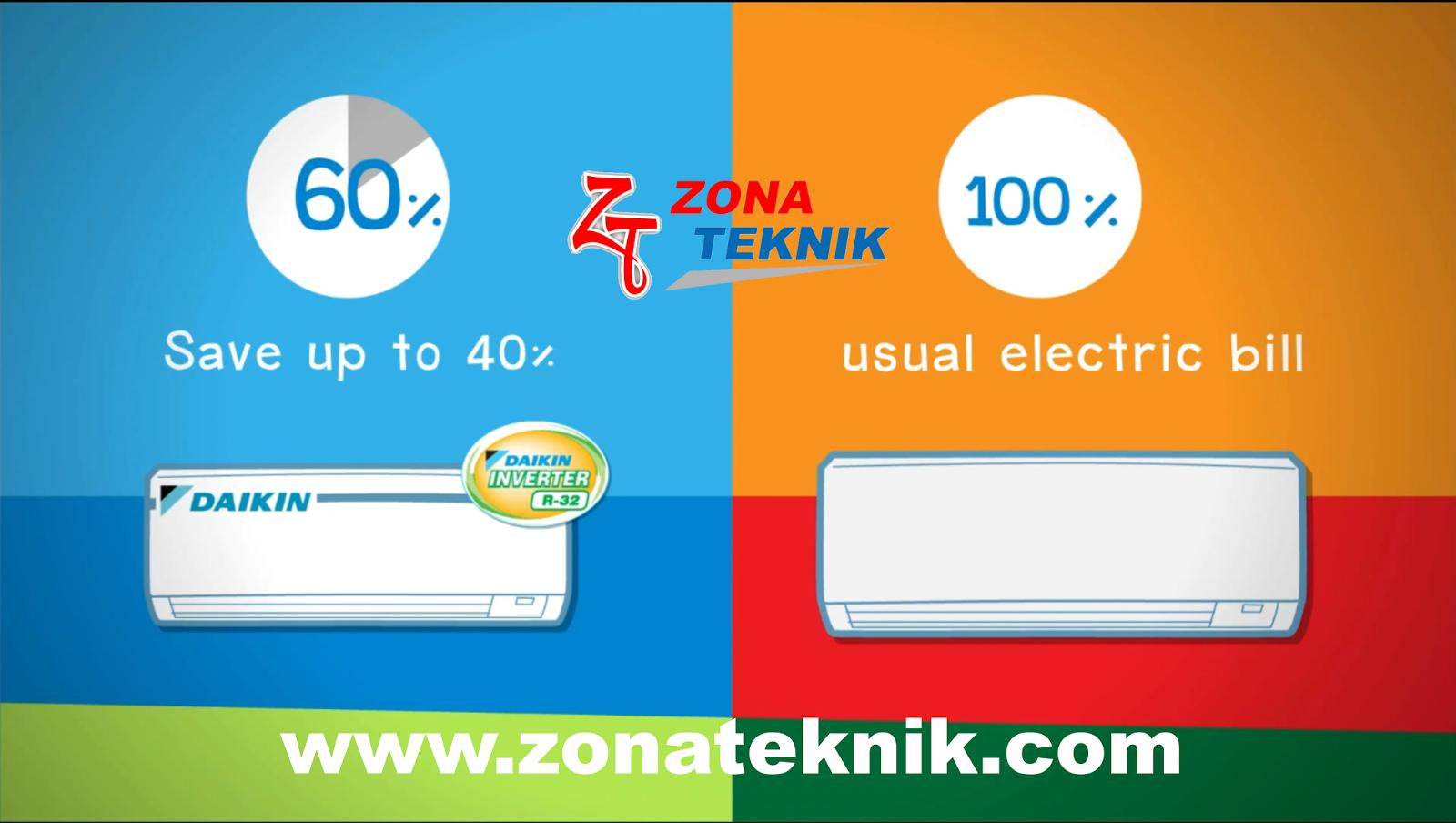 Perbedaan AC Standar dengan AC Inverter