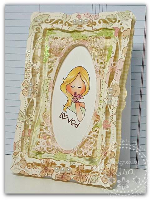 Created In the Crafting Cave with Lisa Flat Friends Lots of Layers