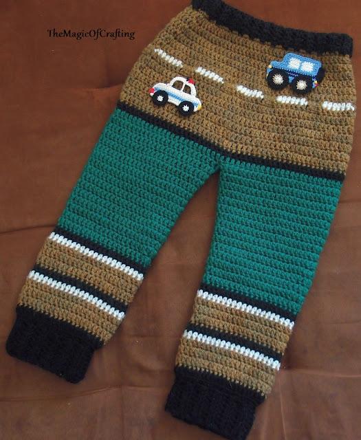 Free Crochet Patterns And Diy Crochet Charts Toddler Pants