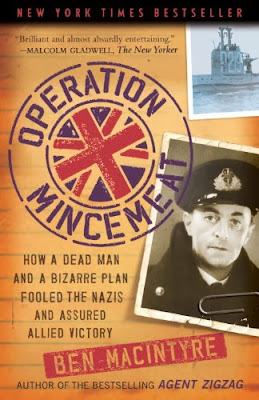 Operation Mincemeat by Ben Macintyre – Book cover