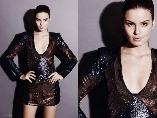 Angel ou Arlete (Camila Queiroz) vestido festa, verdades secretas