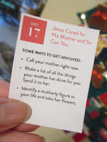 Dec 17: Jesus Cared For His Mother and So Can You