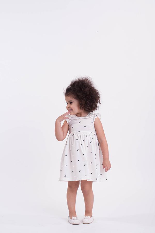 Moda en vestidos para nenas verano 2018.