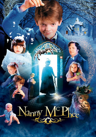 Poster of Nanny McPhee 2005 BRRip 720p Dual Audio 900Mb