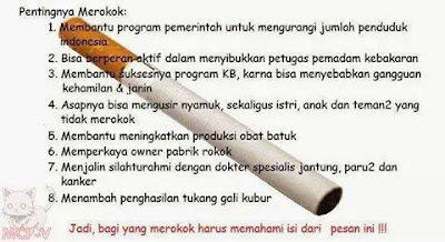 Anti Rokok | Pidato Bahasa Indonesia