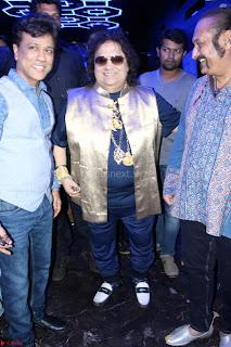 Gracy Singh and Bappi Lahiri   Blue Mountain Music Launch IMG 0638.JPG