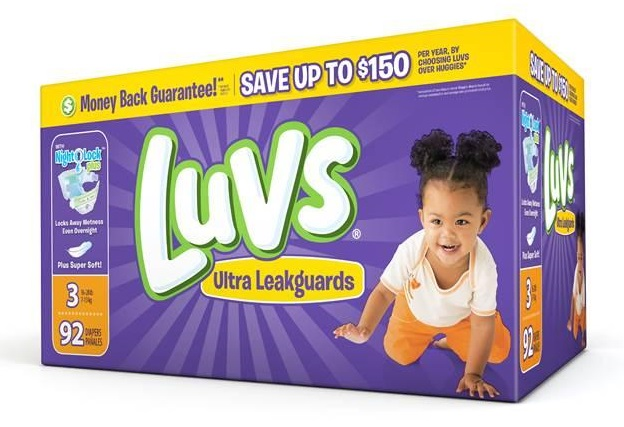 #ShareTheLuv LUVS Diapers $1.00 Printable Coupon & $2.00 off in this Sunday's Paper 4/30