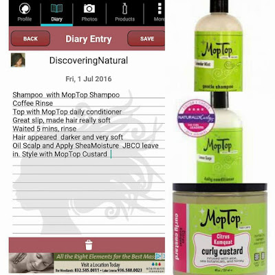 Coffee Rinse Natural Hair MopTop DiscoveringNatural