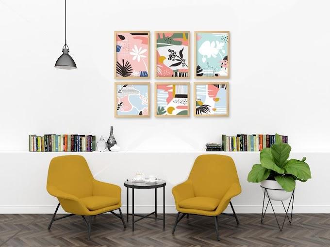 Belanja Hiasan Dinding Supaya Suasana Ruangan Semakin Indah