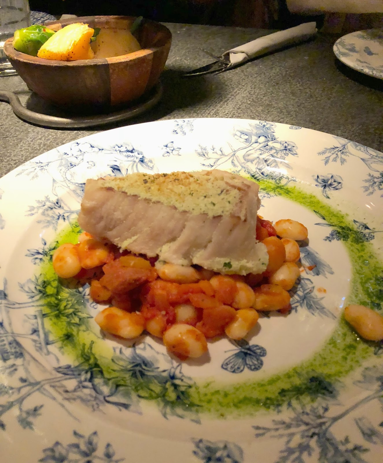 Christmas at the Botanist Newcastle - Baked Cod