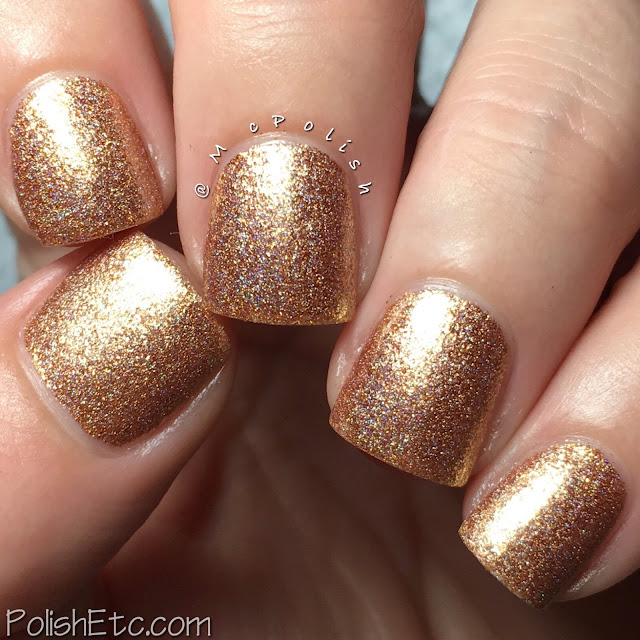 Nine Zero Lacquer - Men of Letters Collection - McPolish - Holy Fire