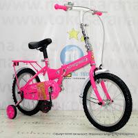 16 Inch Evergreen EG116 Princess Folding Bike